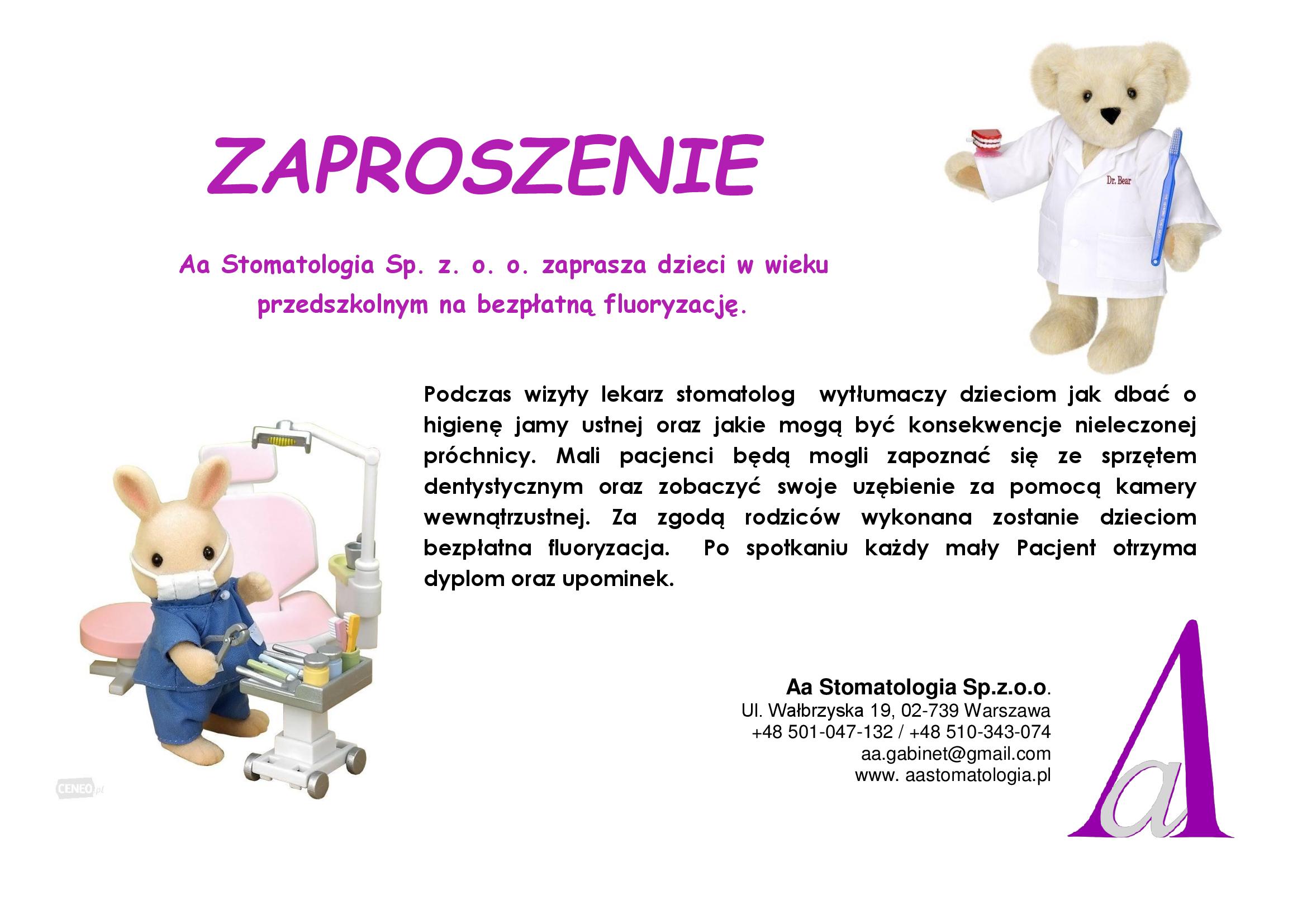 ZAPROSZENIE-przedszkole_fluoryzacja